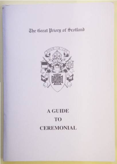 Guide to Ceremonial - Great Priory